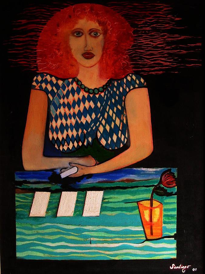 Alea Jacta Est Painting by Adalardo Nunciato  Santiago