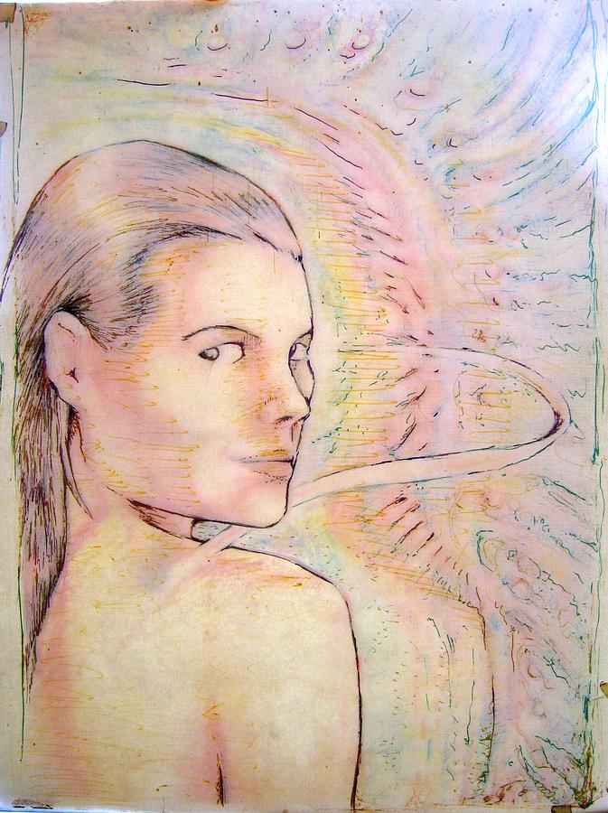 Alegria Drawing by Jeremy Robinson
