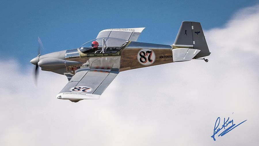 Reno Air Races Photograph - Alex Alverez Friday Morning At Reno Air Race Signature Edition 16x9 Aspect by John King