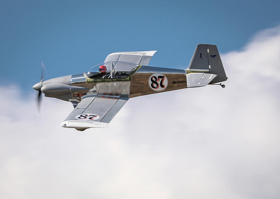Reno Air Races Photograph - Alex Alverez Friday Morning At Reno Air Races 5x7 Aspect by John King