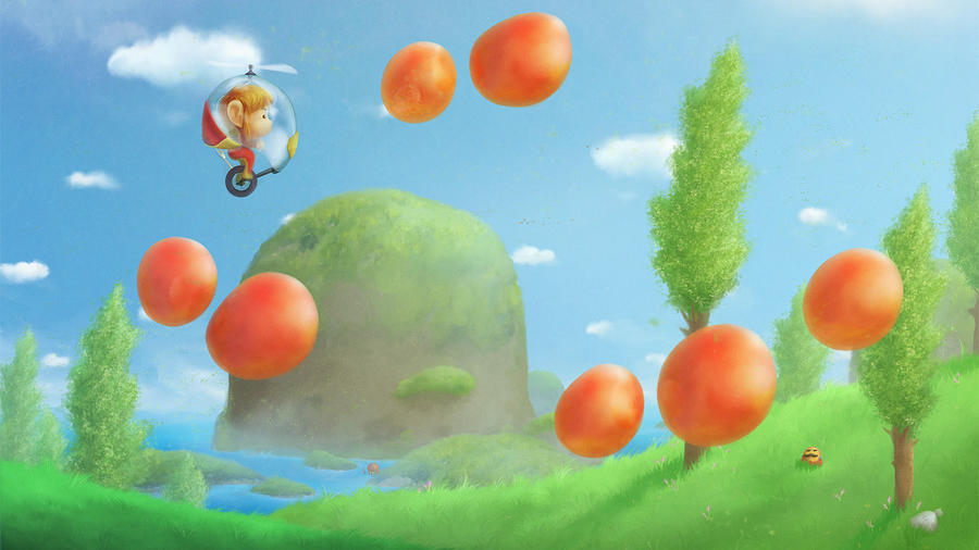 Fruit Digital Art - Alex Kidd In Miracle World by Dorothy Binder