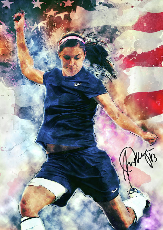 Alex Morgan Digital Art