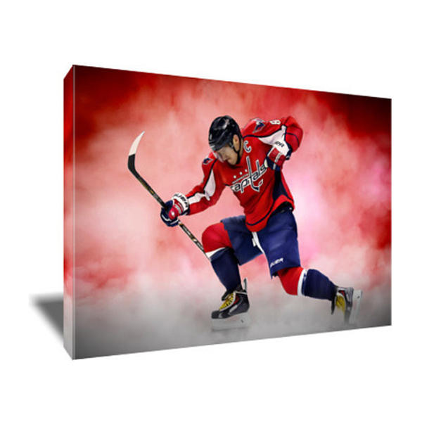Alexander Ovechkin Painting - Alex Ovechkin Canvas Art by Art-Wrench Com