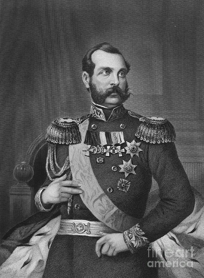 19th Century Photograph - Alexander II (1818-1881) by Granger