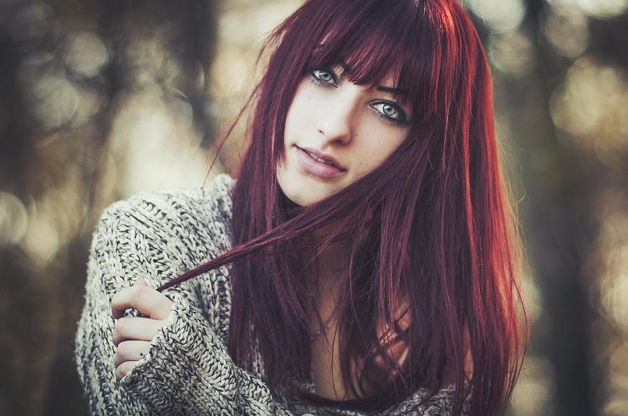 Portrait Photograph - Alexandra by Arnold Eszenyi