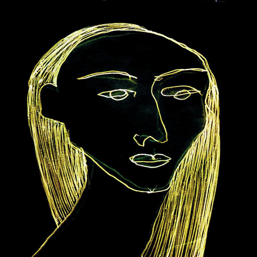 Portrait Digital Art - Alexandra by Arturo Javier Reyes Medina
