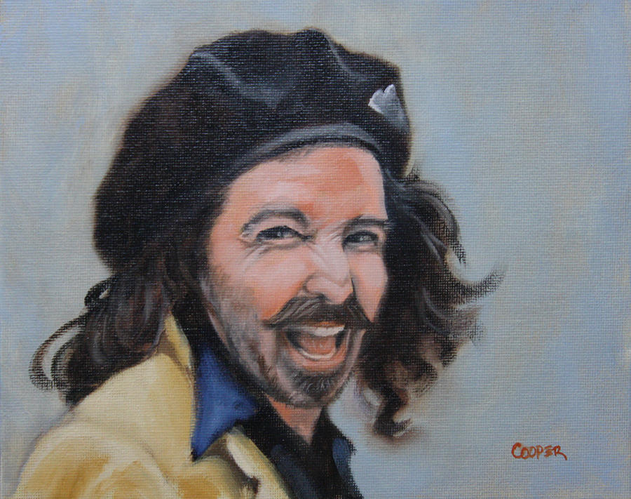 Oil Painting - Alexey Steele by Todd Cooper
