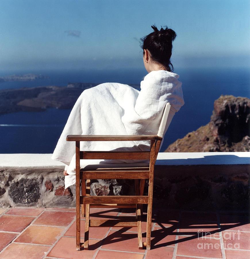 Santorini Photograph - Alexis In Santorini IIi by Andrea Simon