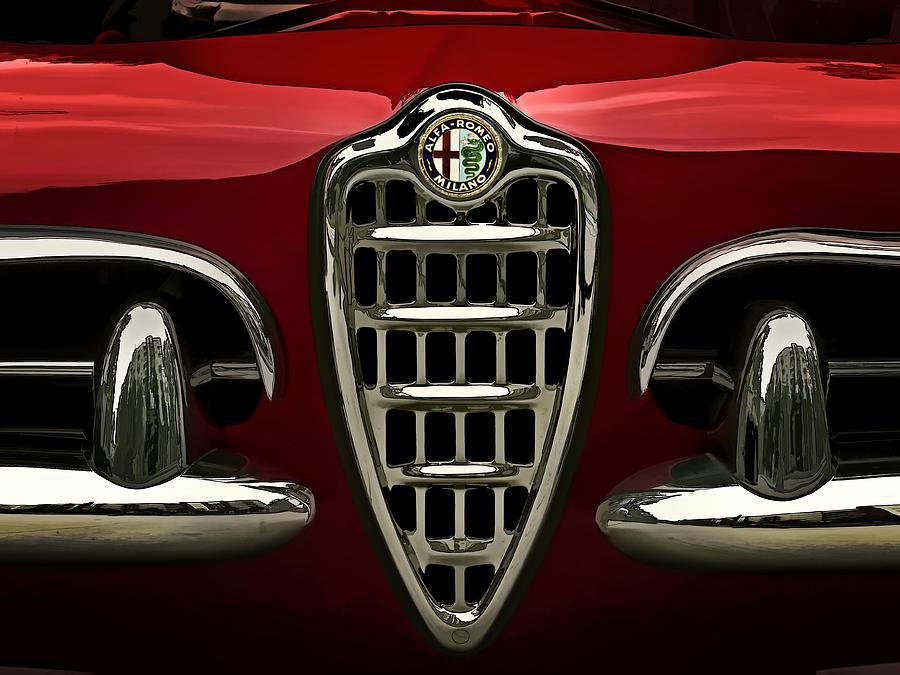 Transportation Digital Art - Alfa Red by Douglas Pittman