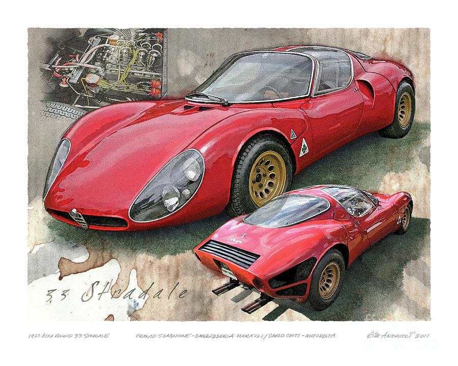 1967 Alfa Romeo 33 Stradale by Rick Andreoli