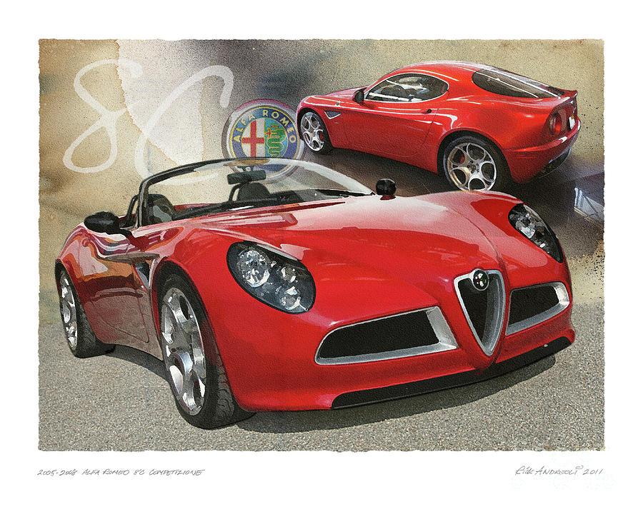 Alfa Romeo 8C Competizione by Rick Andreoli