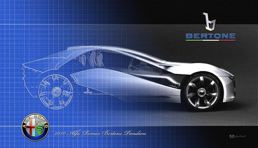 Automotive Photograph - Alfa Romeo Bertone Pandion Concept by Serge Averbukh
