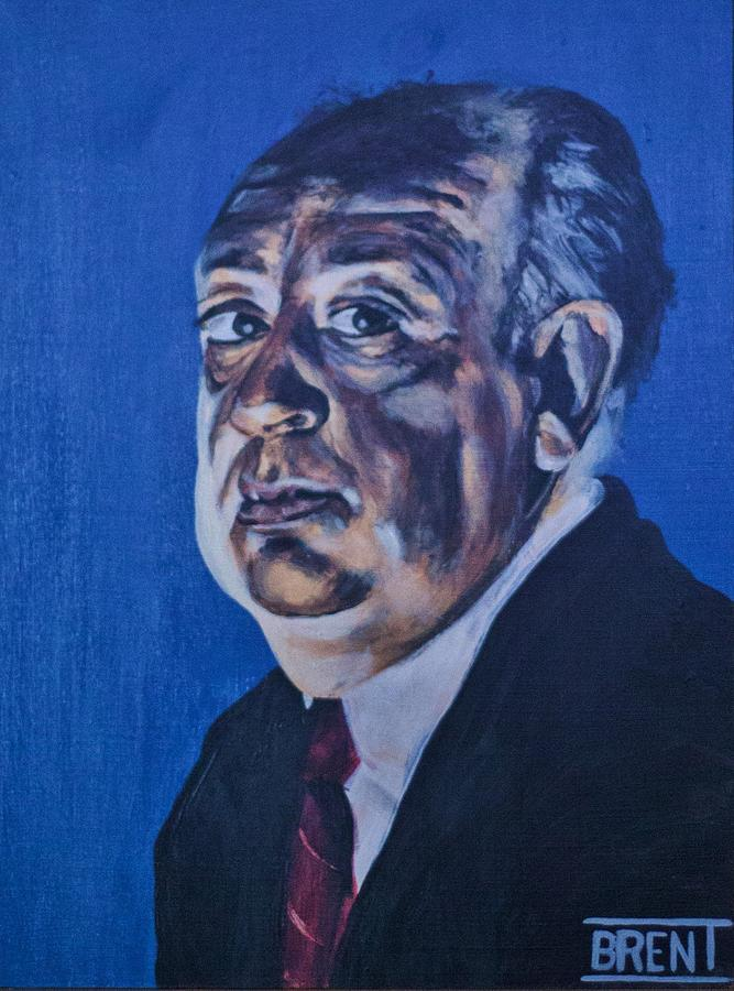 Alfred Hitchcock Painting - Alfred Hitchcock by Brent Andrew Doty