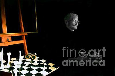 Chess Photograph - Alfredo by Agnieszka Balut