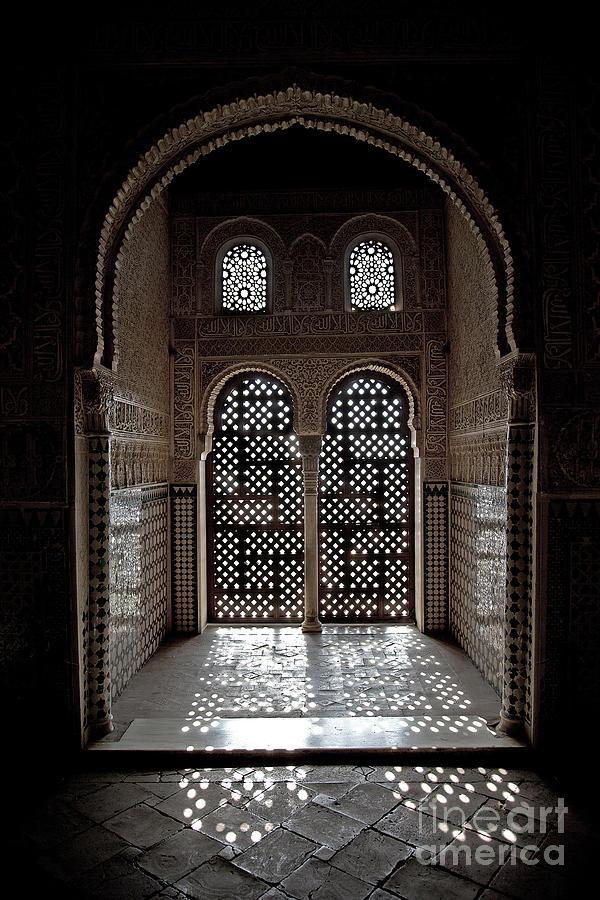 Alhambra Photograph - Alhambra Window by Jane Rix
