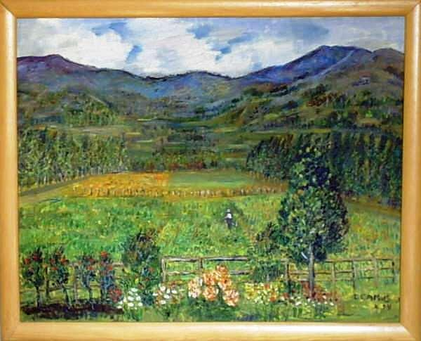 Arte Painting - Alhue-chile by Carlos Camus