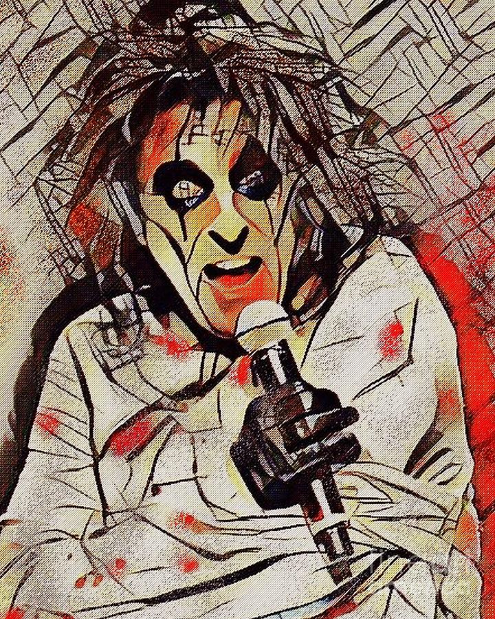 Alice Cooper by Jessie Art