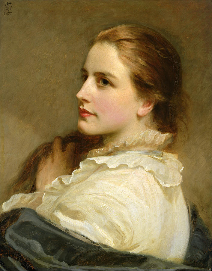 Alice Painting - Alice by Henry Tanworth Wells