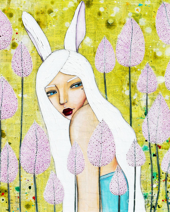 Alice In Wonderland Mixed Media - Alice In Oz by Natalie Briney