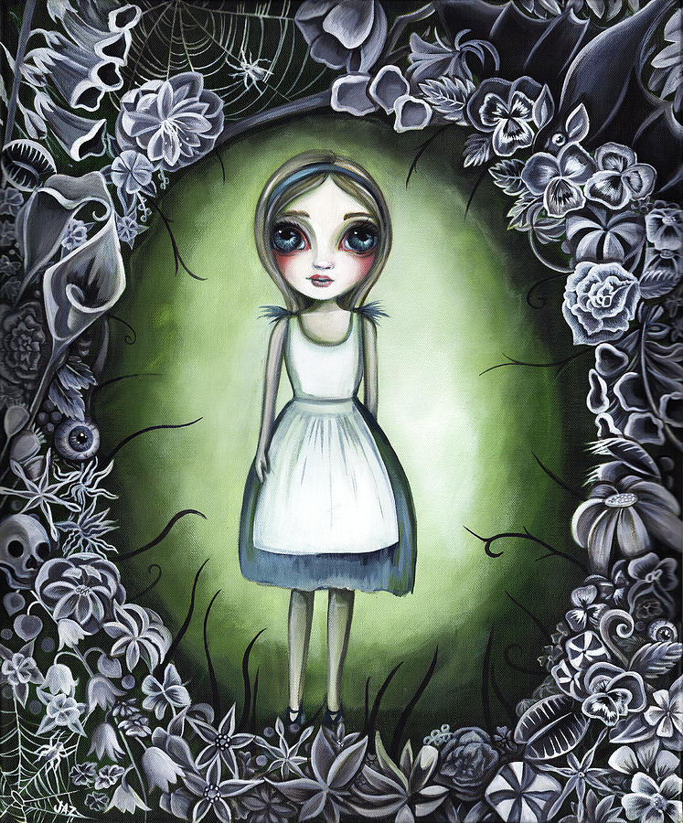 Alice in the Deadly Garden by Jaz Higgins