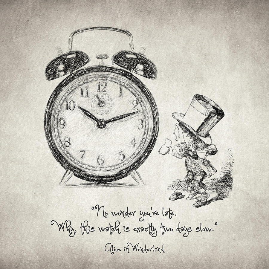 Alice In Wonderland Quote Alice In Wonderland Quote Drawingtaylan Apukovska