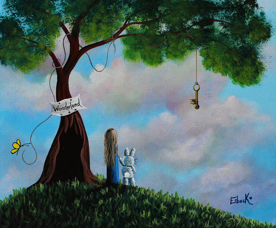 Alice In Wonderland by Erback Art