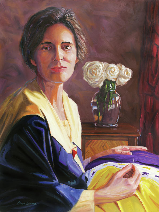 Alice Paul Painting