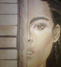 Alicia Keys Painting - Alicia by George Greene