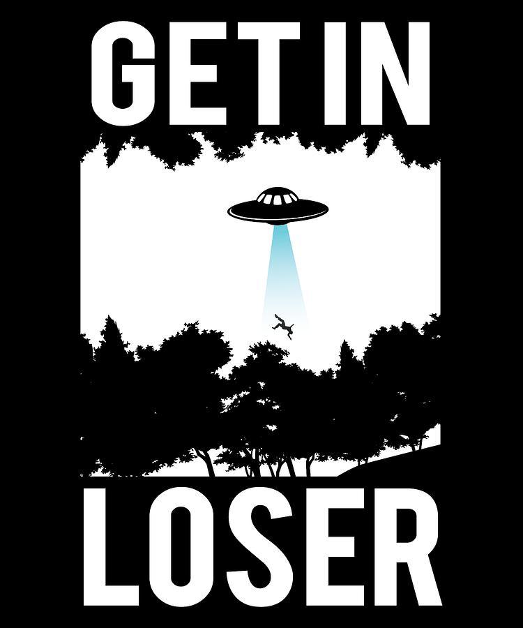 Abduct Digital Art - Alien Abduction Ufo Apparel by Michael S