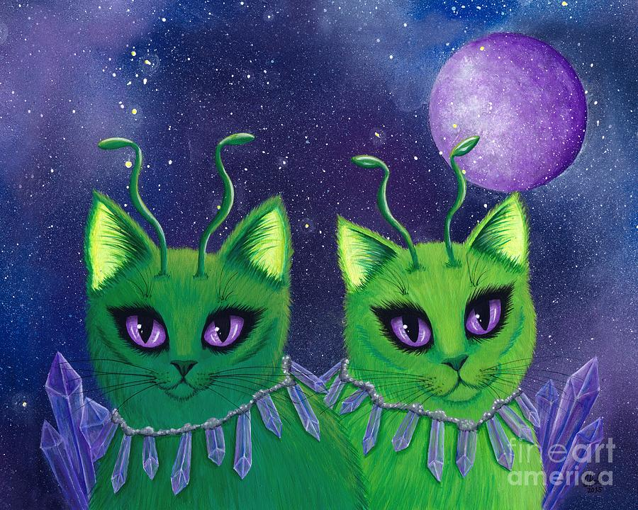 Alien Cats by Carrie Hawks