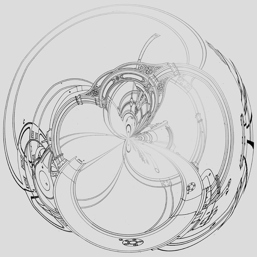 Alien Flywheel by Robert G Kernodle