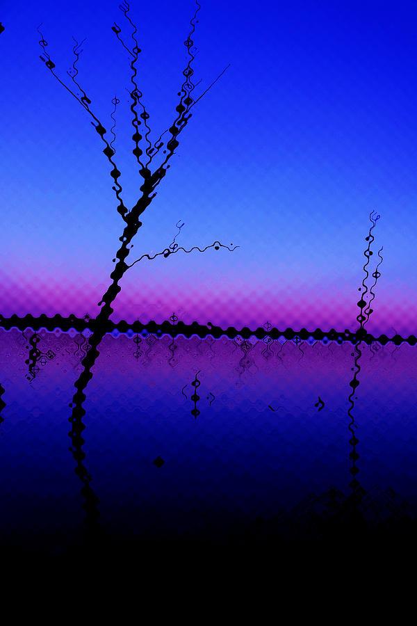 Abstract Photograph - Alien Horizan by Zach Hunter