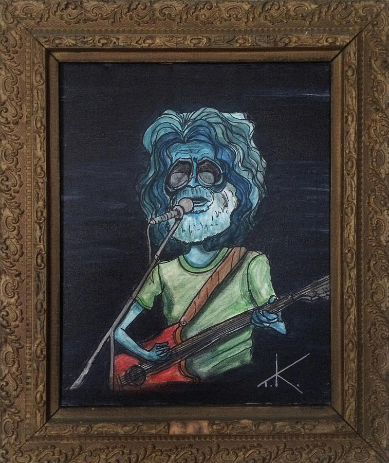 Alien Jerry Garcia by Similar Alien