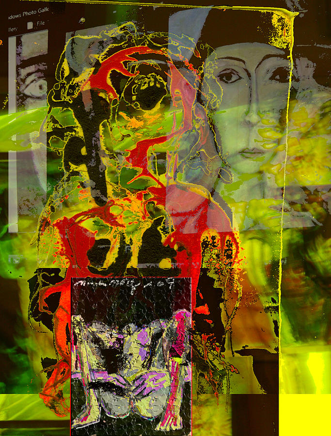 Tense Mixed Media - Alienation by Noredin Morgan