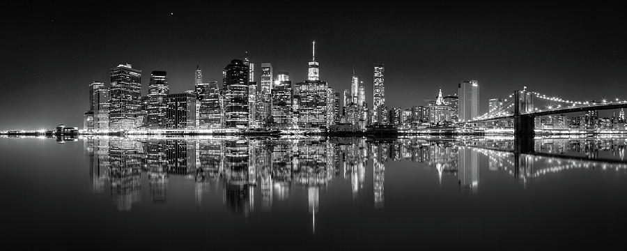 New York Photograph - Alive At Night by Az Jackson