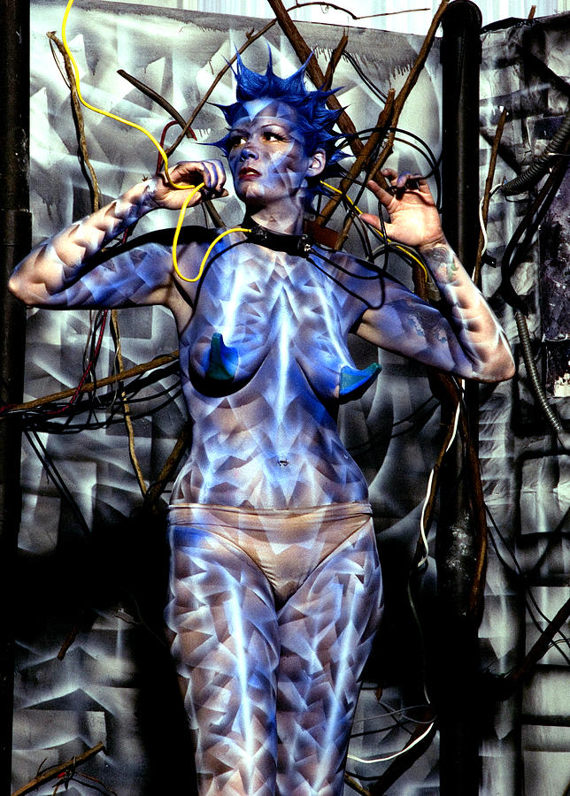 Body Paint Painting - Alive by Leigh Odom