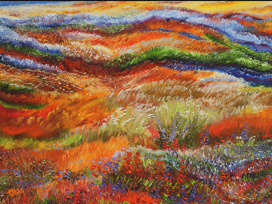 Landscape Painting - Alive by Terry R MacDonald