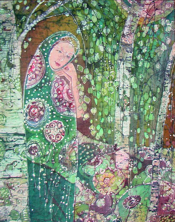 Impressionism Painting - aljonushka by Chagorova Tanja