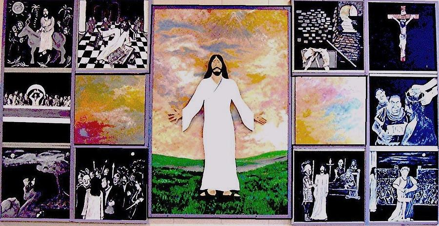 Jesus Relief - All - 1 by Richard  Hubal