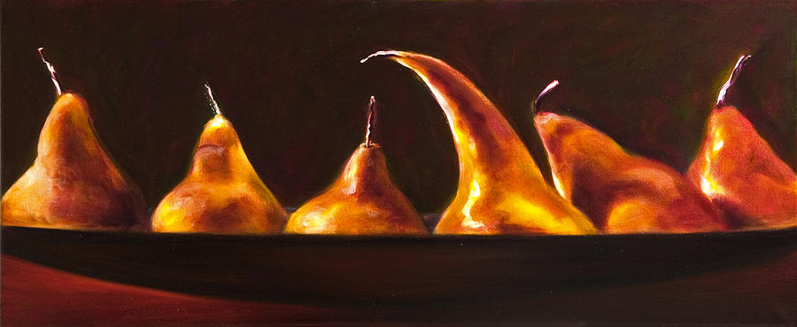 Pears Painting - All Aboard by Shannon Grissom