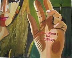 All About My Mother Painting by Anna Portnoy