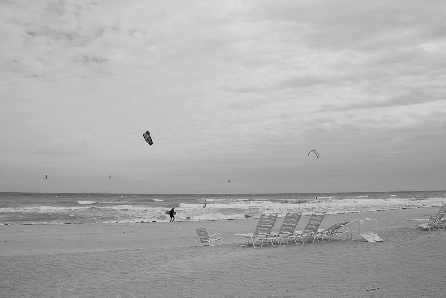 Black And White Photograph - All Alone by Rob Hans