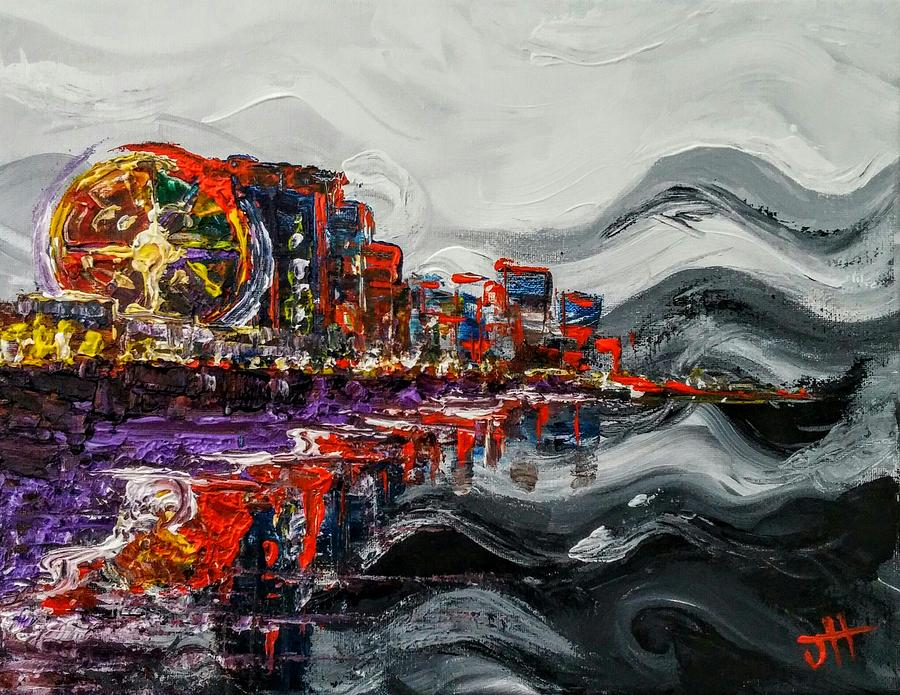 Myrtle Beach Painting - All Along The Grand Strand by Jennifer Hotai