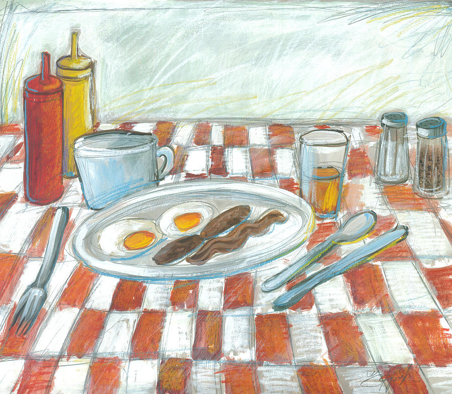 All American Breakfast 2 by Gerry High