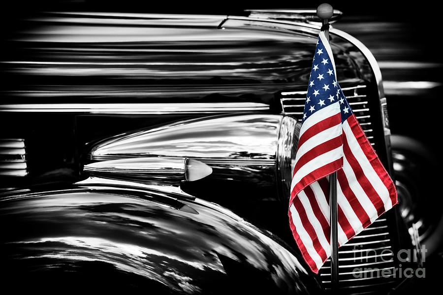 1937 Photograph - All American Buick by Tim Gainey