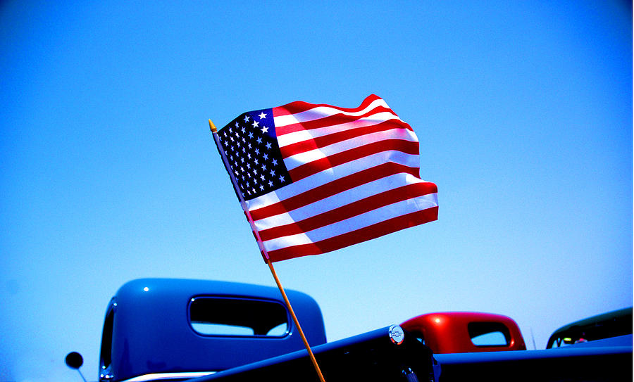 Red White And Blue Photograph - All American by Ralph Vazquez