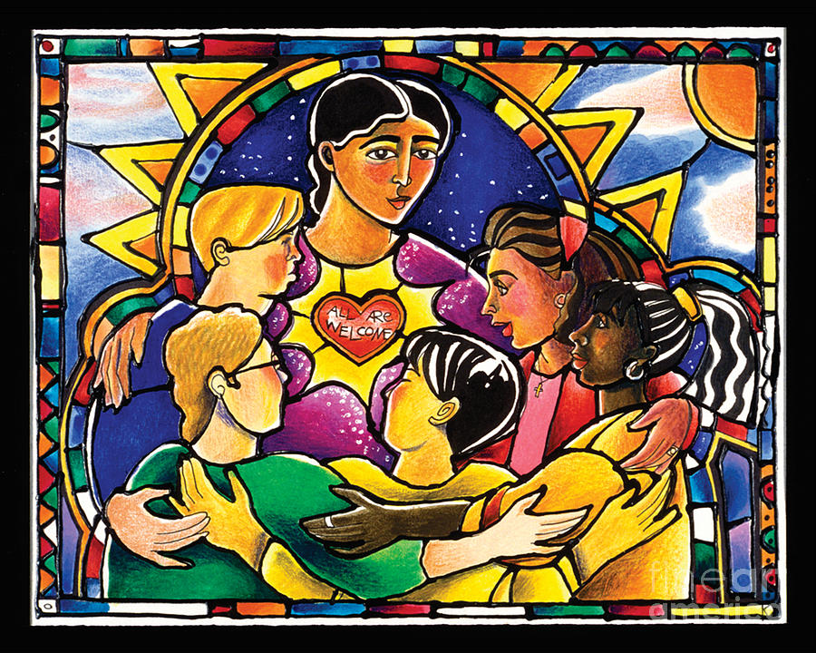 All Are Welcome - MMAAW by Br Mickey McGrath OSFS