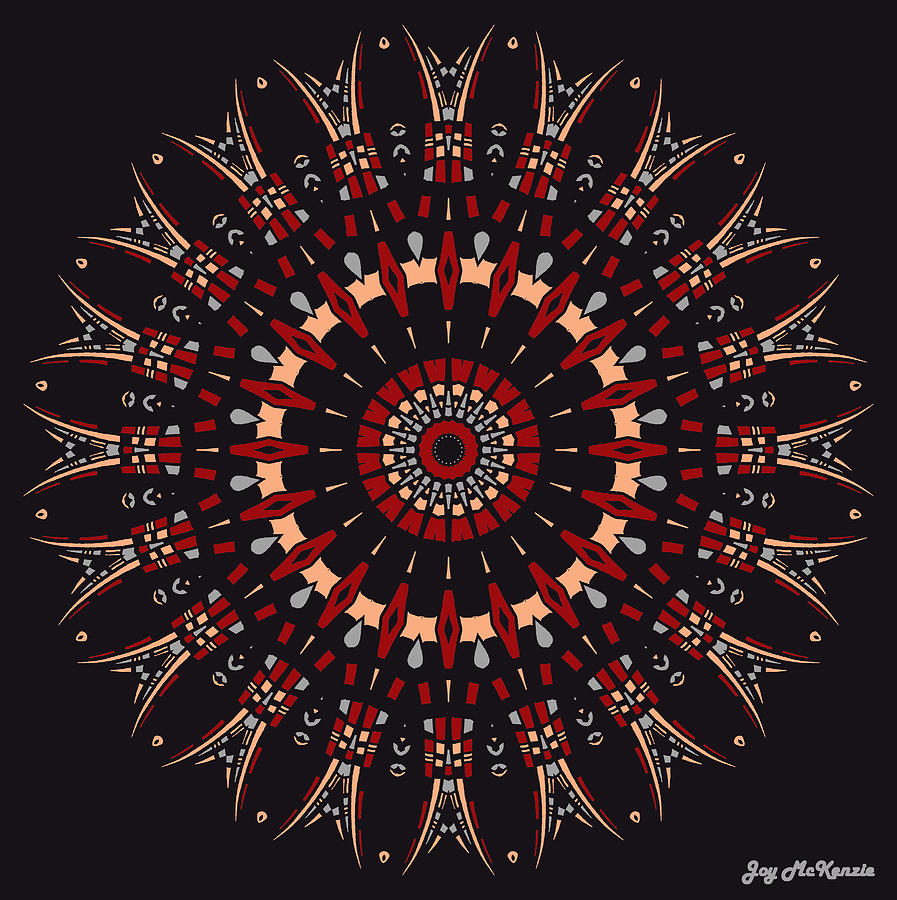 Digital Digital Art - All Arrows Hit The Bullseye by Joy McKenzie