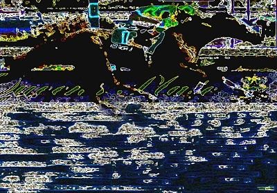 Horse Racing Digital Art - All By Myself by Gary Rogers