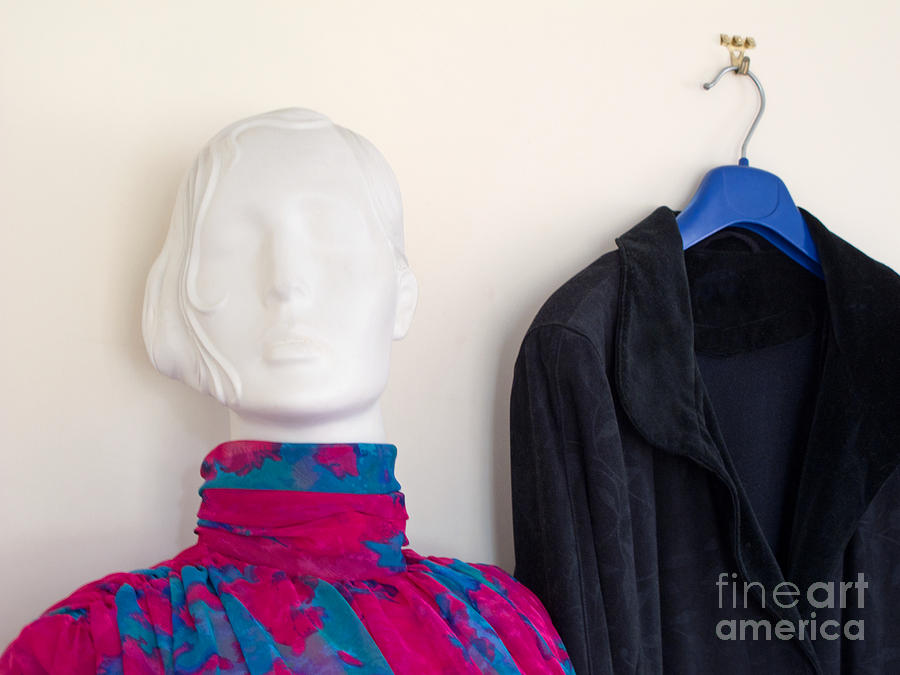 Mannequin Photograph - All Dolled Up by Ann Horn